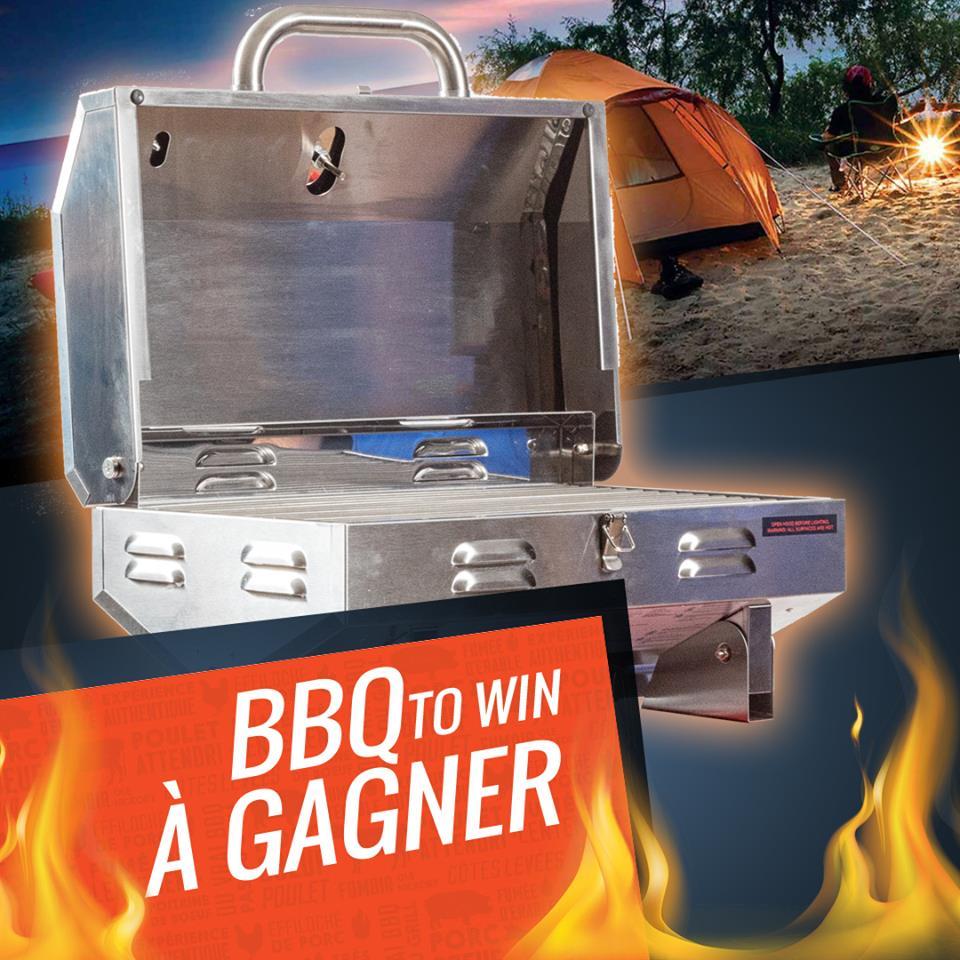 Concours Québec - Chance de gagner un BBQ portatif