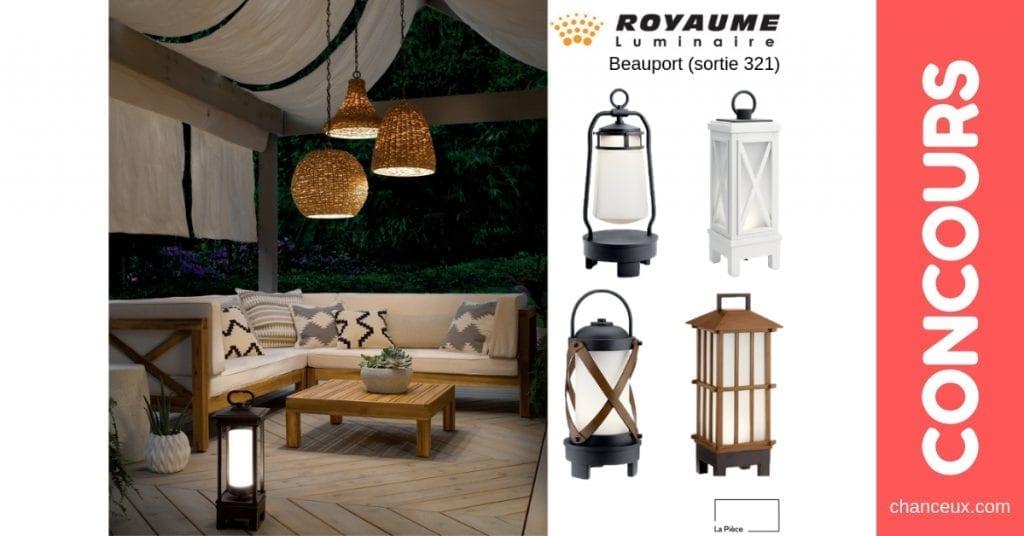 Concours Québec - Gagnez l'une de ces 4 lanternes Bluetooth
