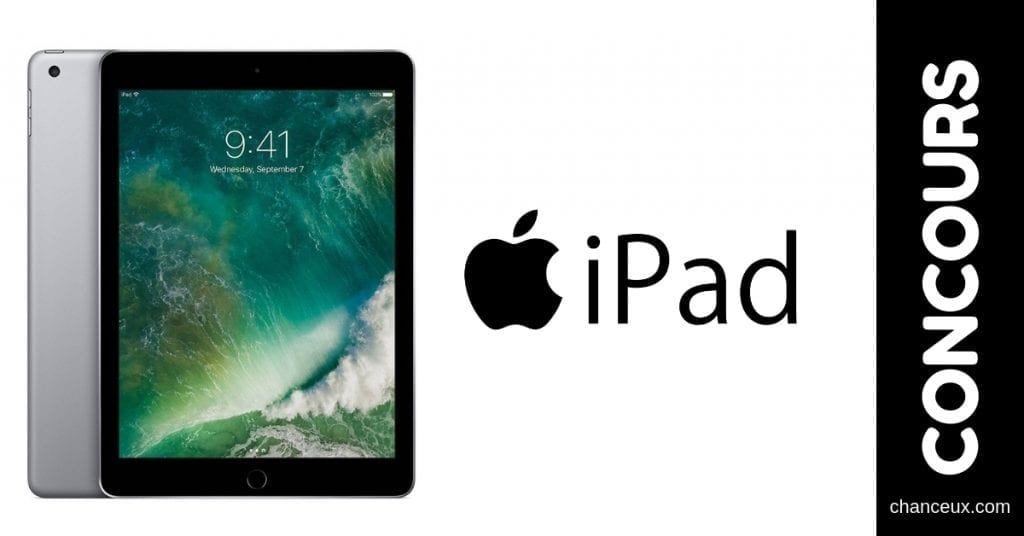 Concours Québec - Gagnez un Apple iPad 32GB Wi-fi