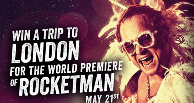 Gagnez un Voyage à Londres pour la Rocketman
