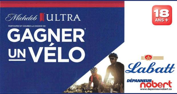 Un magnifique Vélo Michelob ULTRA
