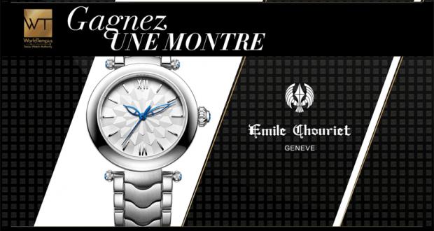 Une montre Emile Chouriet Fair Lady