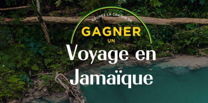 Gagnez un voyage en Jamaïque pour deux personnes