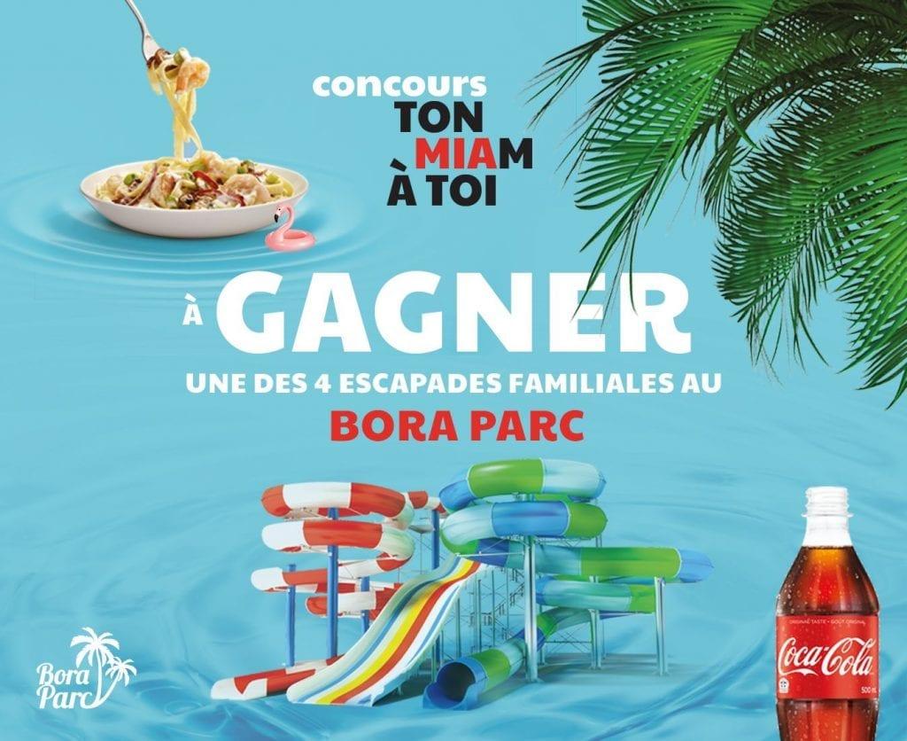 Concours Québec - 4 escapades familiales au bora parc de valcartier
