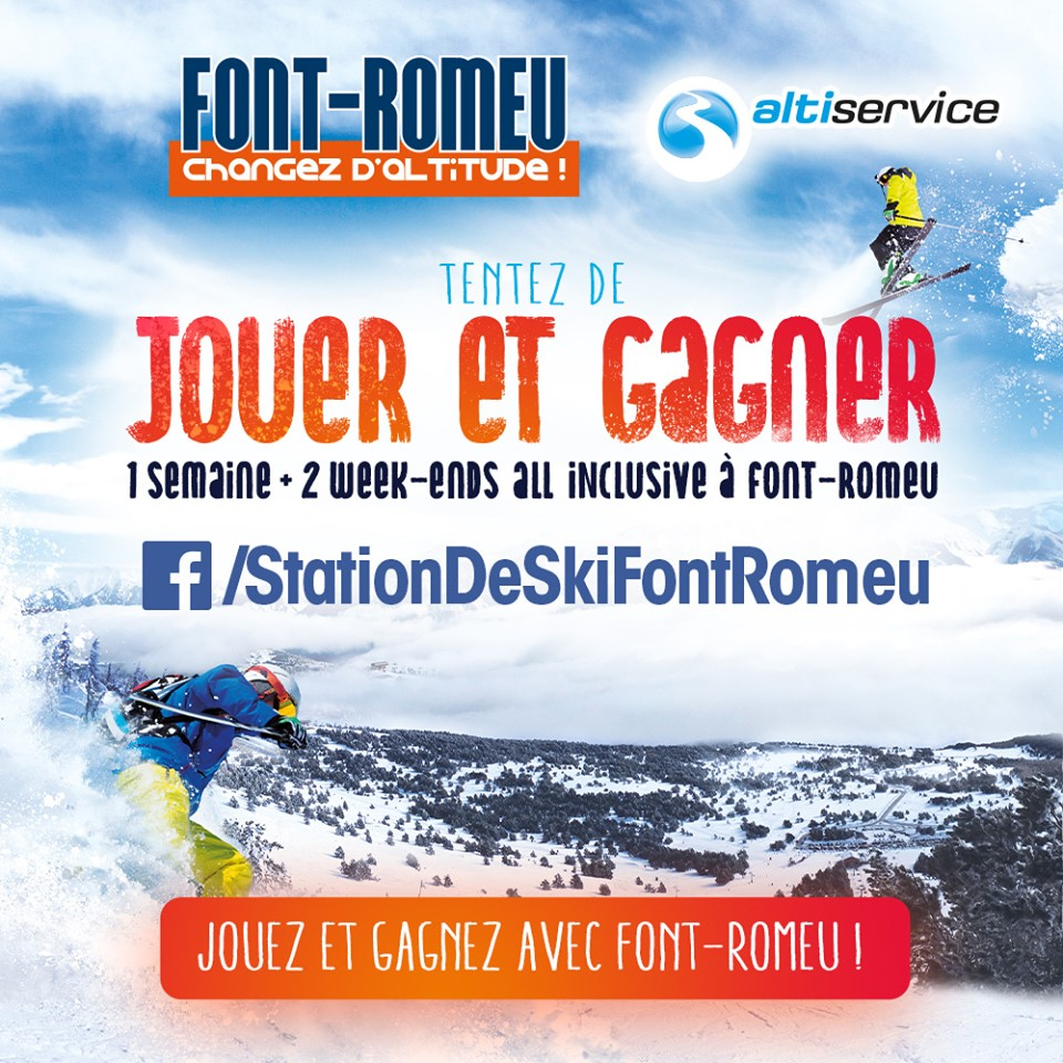 1 semaine au ski all inclusive pour 4 personnes