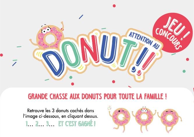"""35 jeux de société """"Attention au Donuts"""""""