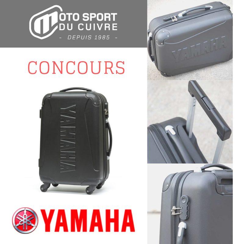 Concours Québec - Gagnez une valise de voyage YAMAHA