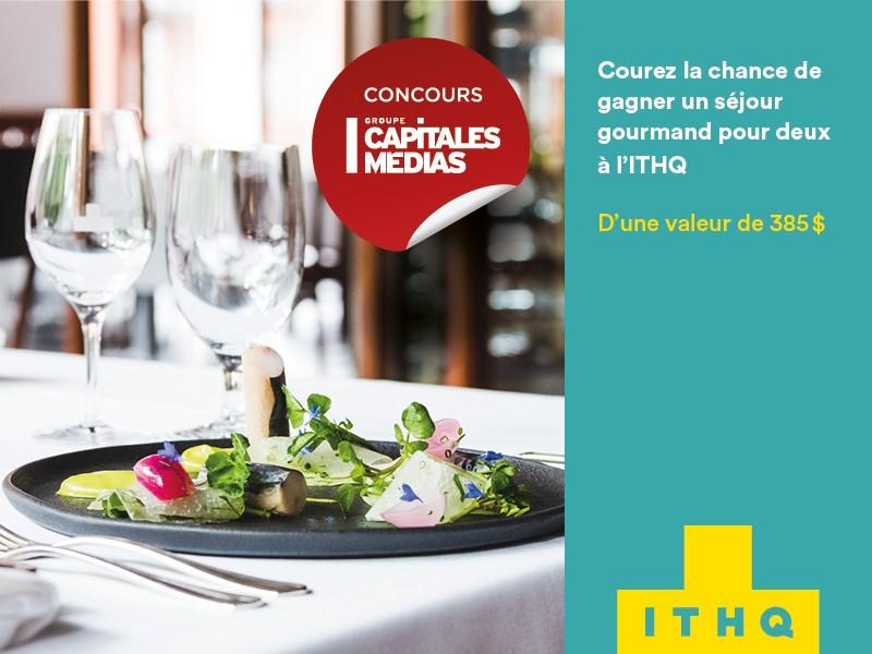 Concours Québec - Séjour à l'hôtel de l'ITHQ