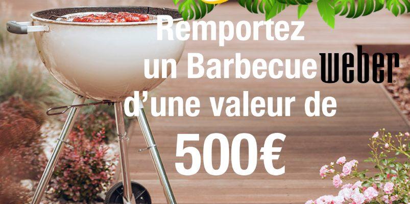 Remportez un barbecue Weber