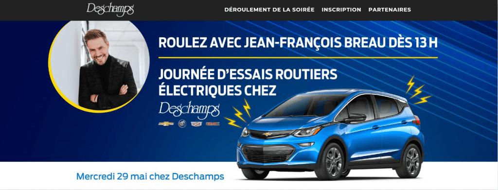 Gagner un essais routier avec Jean-François Breau