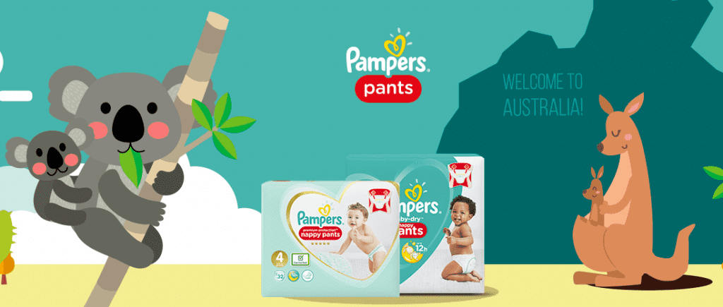 3000 packs de couches Pampers Baby-Dry Pants