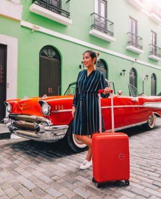 10 valises cabine Soundbox American Tourister