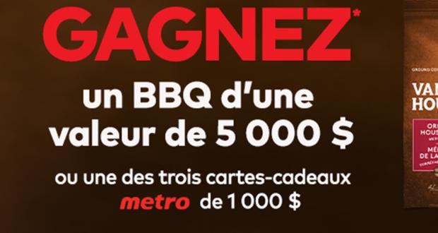 Gagnez un BBQ d'une valeur de 5000$