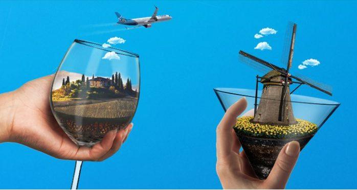 4 Billets Aller-retour Vers La Destination Air Transat