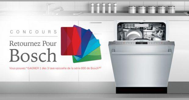Concours Québec – Gagnez 1 Des 3 Lave-vaisselle De Bosch