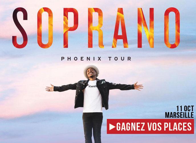 Des invitations pour le concert de Soprano