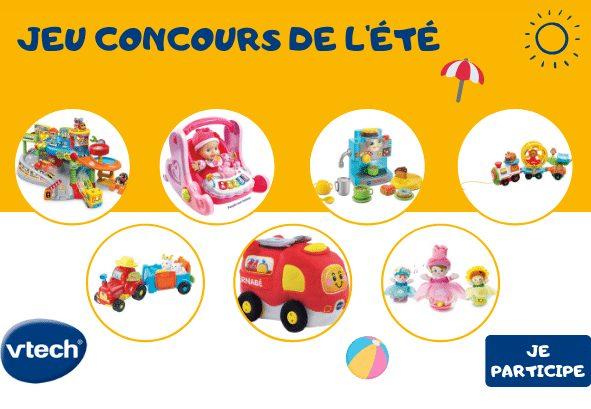 Gagnez 15 jouets Vtech