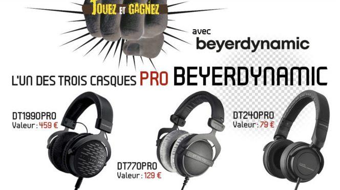 3 casques audio Pro Beyerdynamic