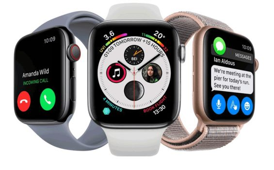 Apple Watch Series 4 d'une valeur de 519$