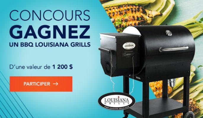 Un BBQ Louisiana Grills de 1200$