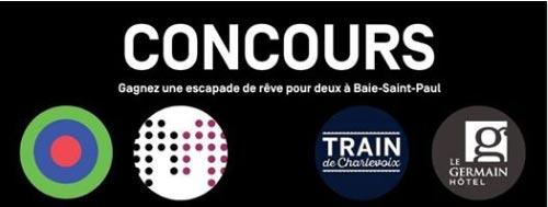 Concours Québec – Une escapade de rêve pour 2 à baie-saint-paul
