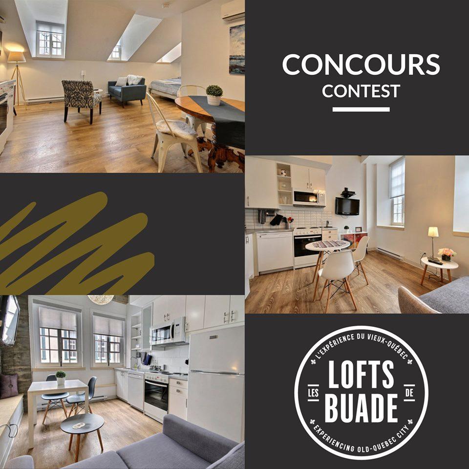 Concours Québec - Un séjour aux Lofts de Buade