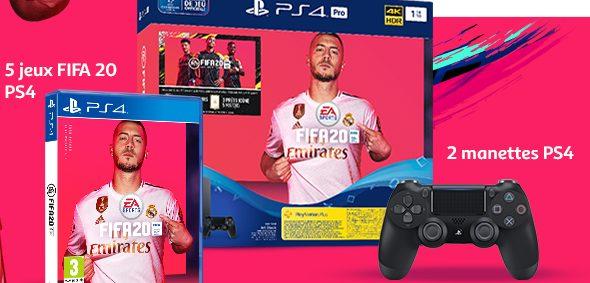 1 console de jeu PS4 Pro