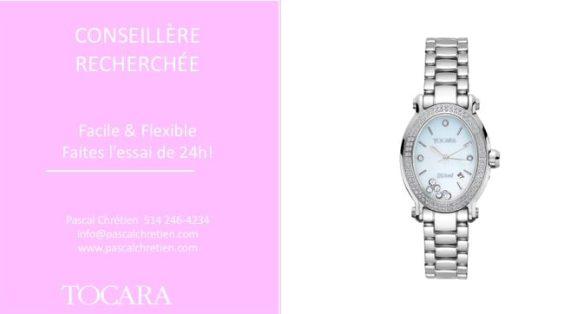 Une montre Gemma de TOCARA