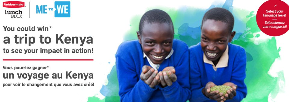 Gagnez un voyage pour 4 personnes au Kenya