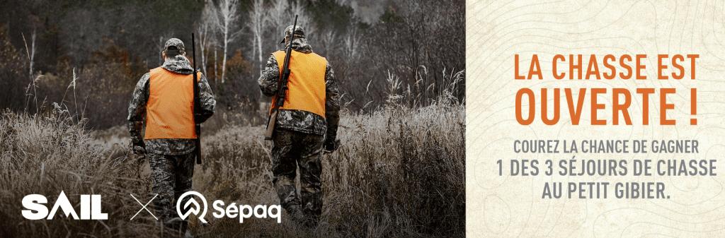 Gagnez 1 des 3 séjours de chasse au petit gibier