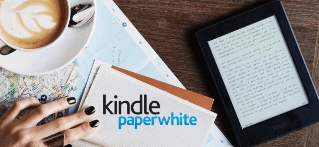 Une liseuse kindle paperwhite