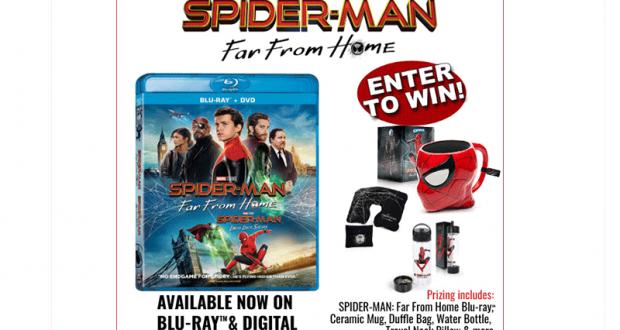 Ensemble cadeaux du film Spider-Man Far From Home