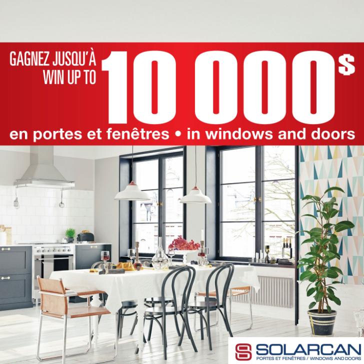 Gagnez de nouvelles portes et fenêtres pour votre maison