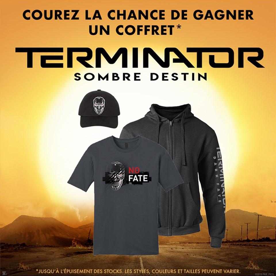 Un Coffret Terminator Offert Par Les Cinémas Guzzo