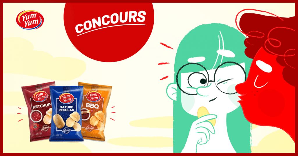 Concours Québec - Un 1 an de chips Yum Yum gratuites