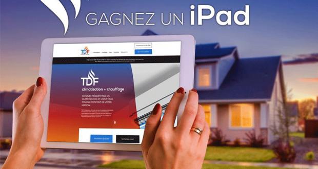 Gagnez un iPad de Apple