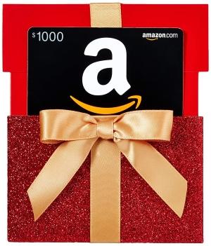 Gagnez une carte cadeau Amazon de 1000$