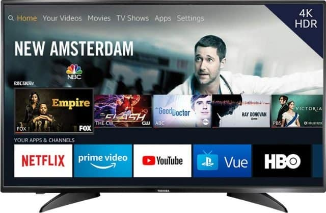 Toshiba 43-inch 4K Ultra HD Smart LED TV