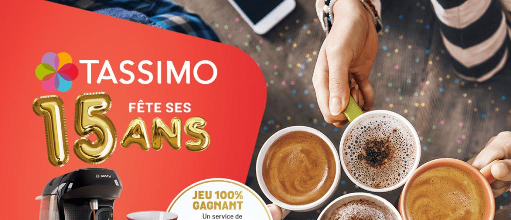 30 machines à café Tassimo Bosch