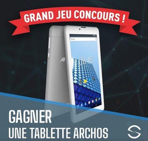 Gagnez 1 tablette Archos