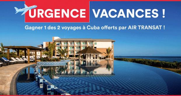 Gagnez un des deux voyages à Cuba