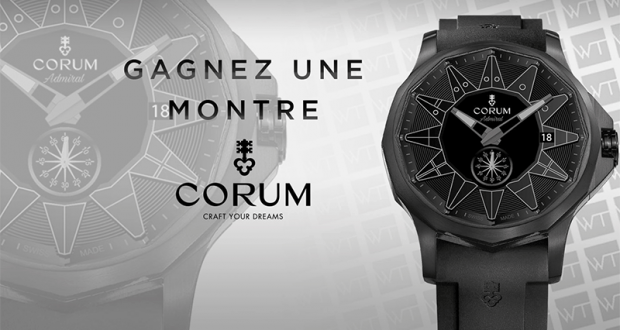 Gagnez une montre Corum Admiral Legend 42
