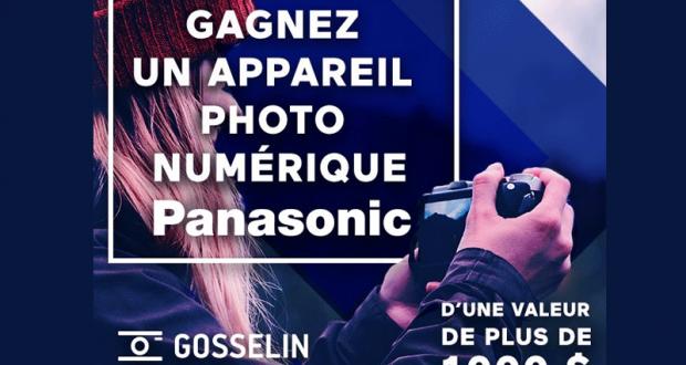 Un appareil photo numérique Panasonic