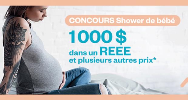 1000$ en vêtements et produits pour bébé