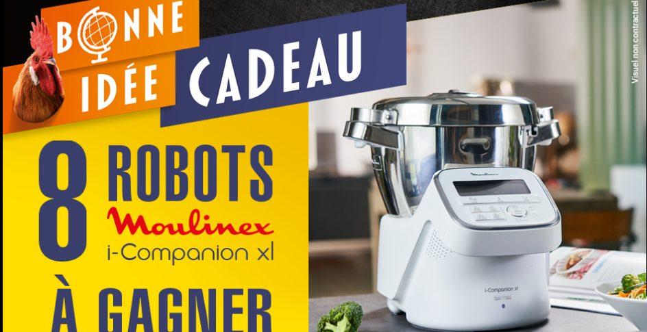 8 robots iCompanion XL Moulinex