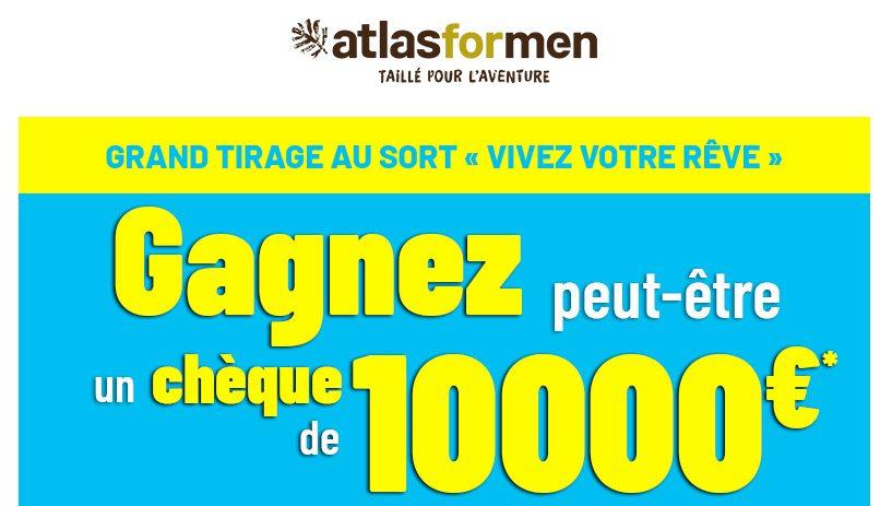 1 chèque de 10000 euros