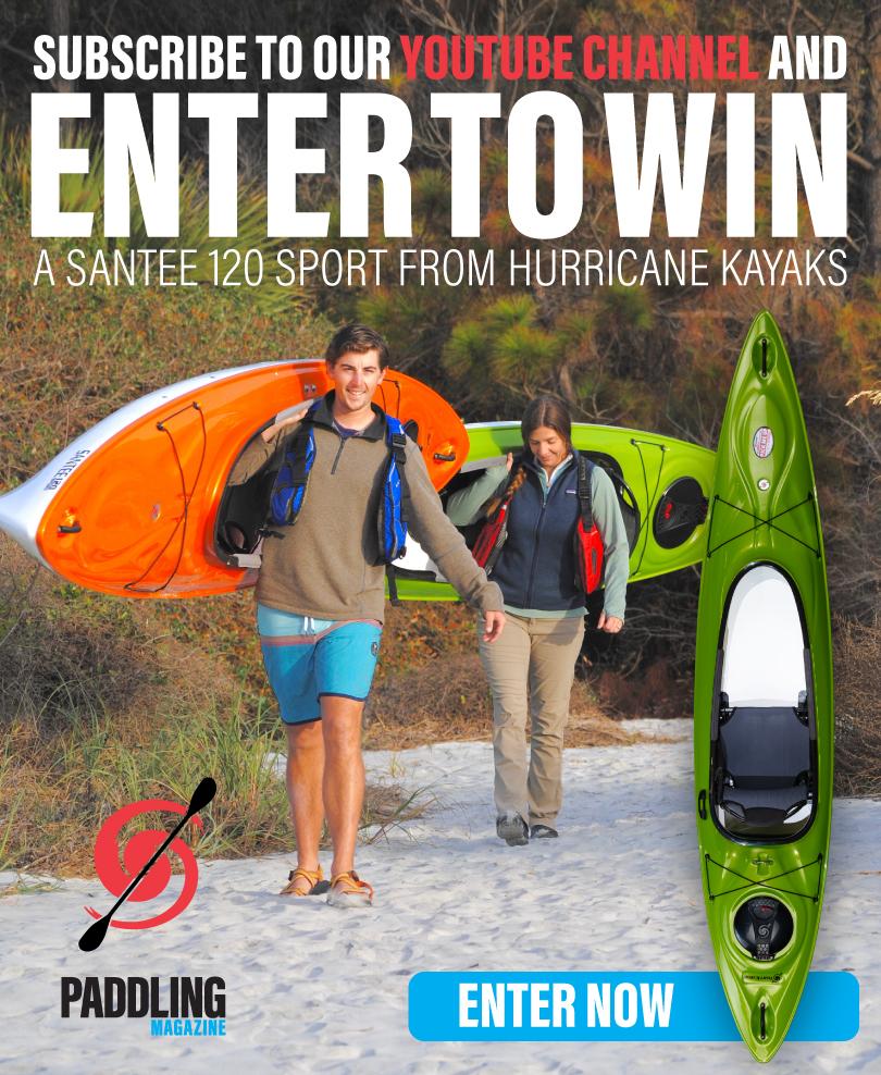 Un kayak Hurricane Santee 120 Sport