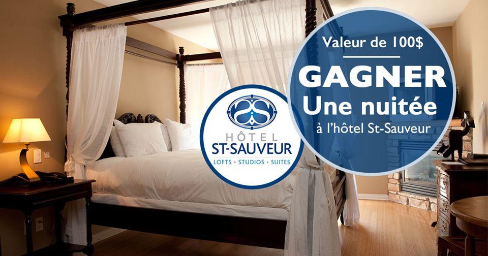 Gagner Une Nuit À L'hôtel Saint-sauveur
