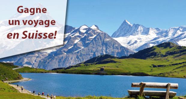 Gagnez un voyage pour deux en Suisse