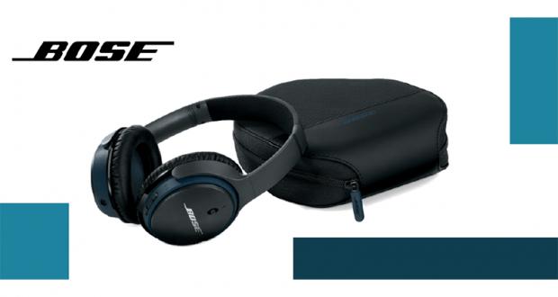 Une paire d'écouteurs sans fil Bose SoundLink 2